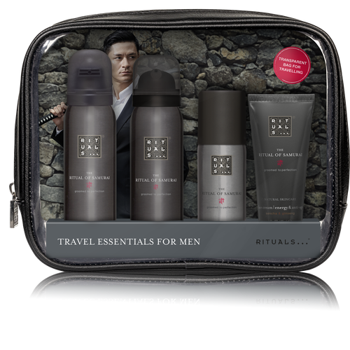 Ritual of samurai travel set skincare men